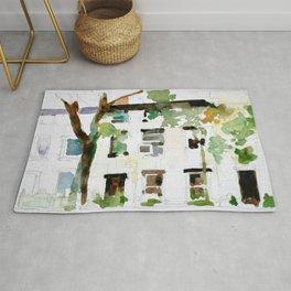 Brownstones and Tree Rug