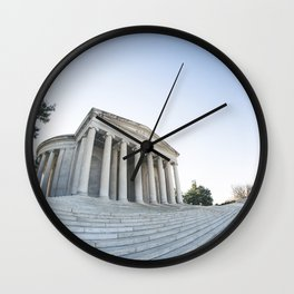 Skewed Politics Wall Clock