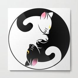 Luna & Artemis Metal Print