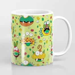 Monster Mash Green Coffee Mug