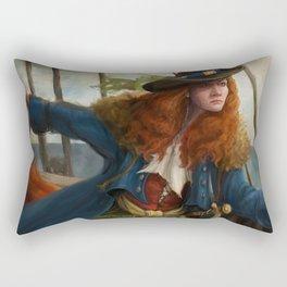 Pirate Queen Rectangular Pillow