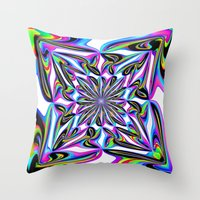 ornate Throw Pillows featuring Ornate by David  Gough