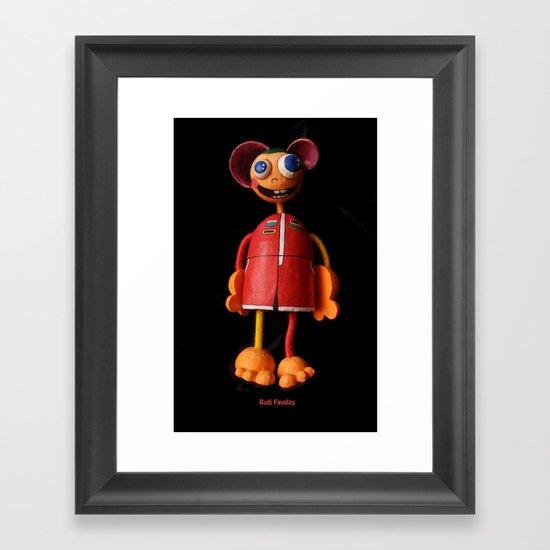 Rudi Favolas Framed Art Print
