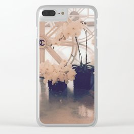 Coco No. 5 Floral Exhibit Clear iPhone Case