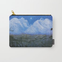 "Harald Sohlberg ""Winter Night in the Mountains (Winter Night in Rondane)"" - study (1901) Carry-All Pouch"