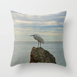 The Song in My Heart Sings Throw Pillow