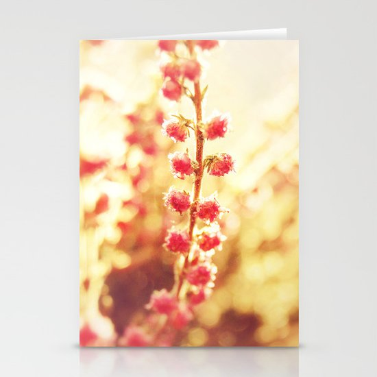 Sweet Heather Nature Photography Stationery Cards
