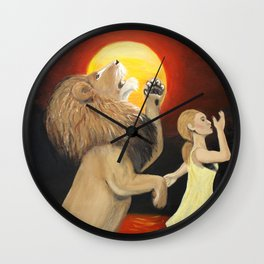 Turned My Mourning Into Dancing Wall Clock
