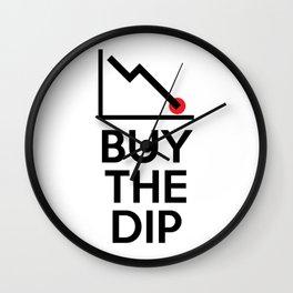 Buy The Dip Wall Clock