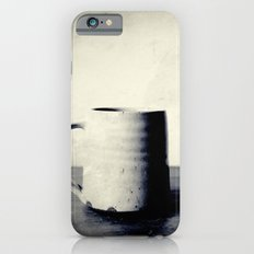 Cup of coffee on a table iPhone 6s Slim Case