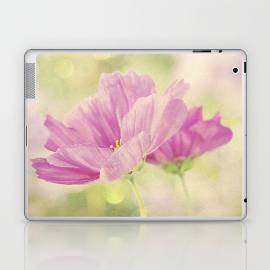 Cosmos in the Pink I Laptop & iPad Skin