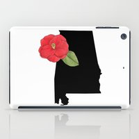 alabama iPad Cases featuring Alabama Silhouette by Ursula Rodgers
