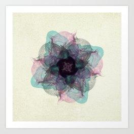 Devil's flower Art Print
