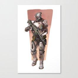 battle ready Canvas Print