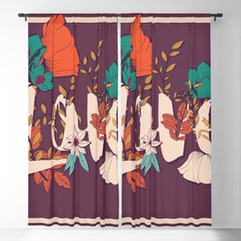 Type Love 001 Blackout Curtain