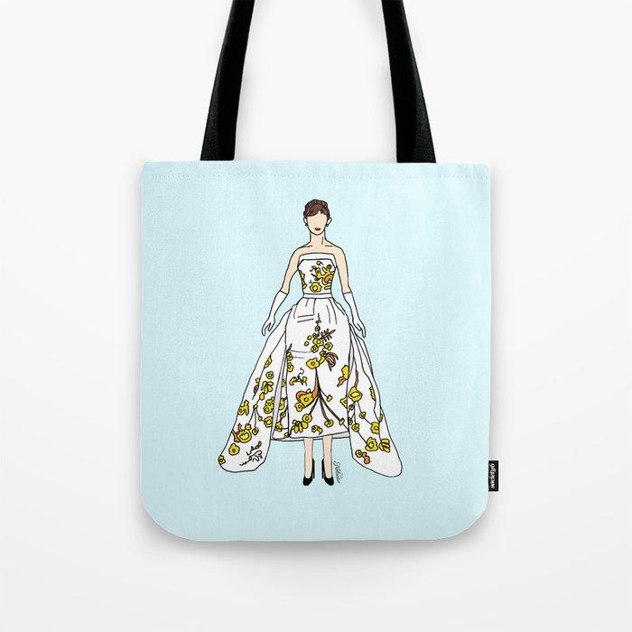 Audrey Hepburn Vintage Retro Fashion 2 Tote Bag