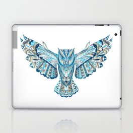Flying Colorful Owl Design Laptop & iPad Skin