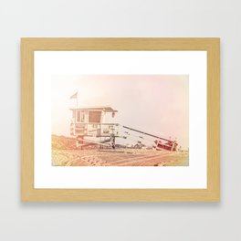"Bruno Mars ""Billionaire"" Video Lifeguard Tower Framed Art Print"
