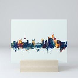 Vilnius Lithuania Skyline Mini Art Print