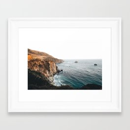 Big Sur, California // Framed Art Print