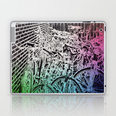 bike yard 1 Laptop & iPad Skin