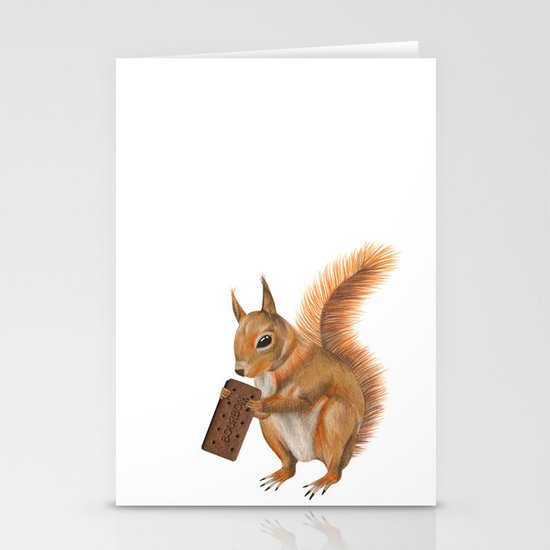 Super squirrel. Stationery Cards