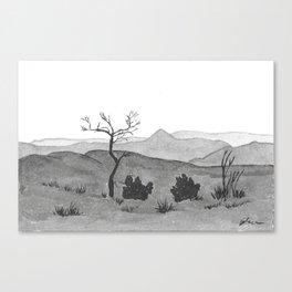 Sundowner - Namibia Canvas Print