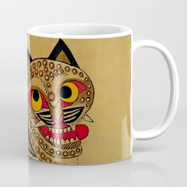 Idiot Tiger and Scolding Magpie Korean Minhwa Coffee Mug