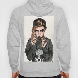 Cara Delevingne x Terry Richardson Hoody