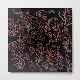 scarlet underwater Metal Print