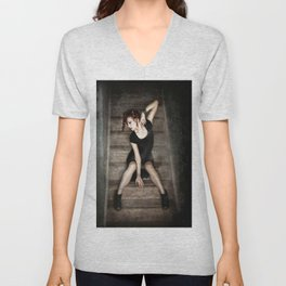 Small Cages Unisex V-Neck
