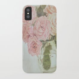 Between roses. iPhone Case