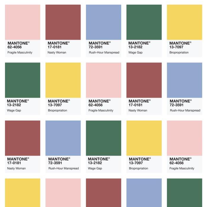 MANTONE® Colour Palette Duvet Cover