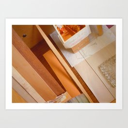Inside The Drawer Art Print
