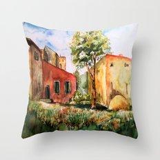 mediterran Throw Pillow