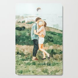 Togetherness #painting Cutting Board