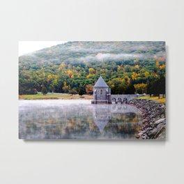 New England Fog Metal Print