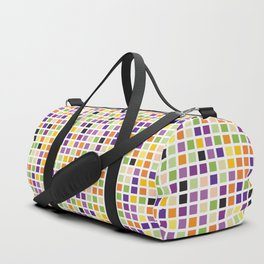 City Blocks - Eggplant #490 Duffle Bag