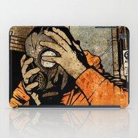 borderlands iPad Cases featuring Leroy And The Five Dancing Skulls Of Doom by Matthew Dunn