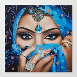 Jeeshan Canvas Print