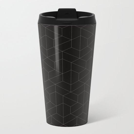 Hexagonal  Metal Travel Mug