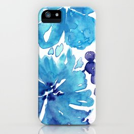 Abstract floral & square #7 iPhone Case