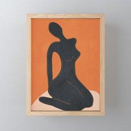 Abstract Nude II Framed Mini Art Print