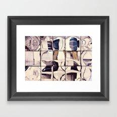 Pale Reflections Framed Art Print