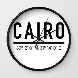 Cairo Wall Clock