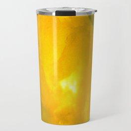 Textures (Yellow version) Travel Mug