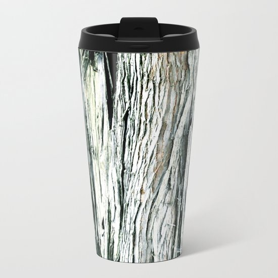 TREE BARK Metal Travel Mug