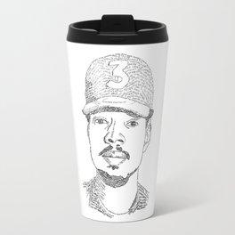 Chance the Rapper Poster Travel Mug