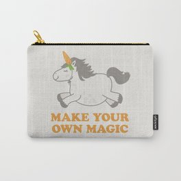 Make Your Own Magic - Pony Turned Unicorn Carry-All Pouch