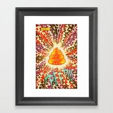 COSMIC POOP Framed Art Print